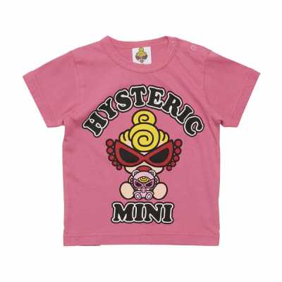 MY FIRST HYSTERIC HELLO TEDDY MINI 半袖Tシャツ
