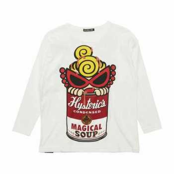 Hystericmini MAGICAL SOUP 長袖BIG Tシャツ
