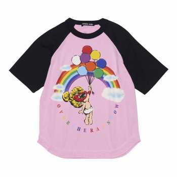 Hystericmini TAGGING MINI ラグランBIG半袖Tシャツ