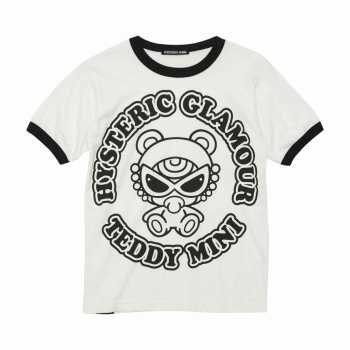 [SALE]Hystericmini TEDDY MINI ROUNDロゴ BIG Tシャツ