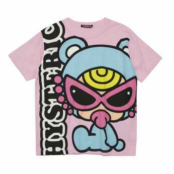 [SALE]Hystericmini HELLO TEDDY MINI BIG Tシャツ