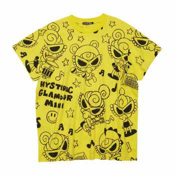 Hystericmini SELFISH GIRL 総柄 BIG Tシャツ