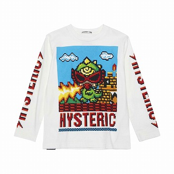 [SALE] Hystericmini DOT MINILA BIG長袖Tシャツ