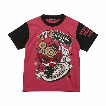 Hystericmini MINI the SPY コーマ天竺Tシャツ