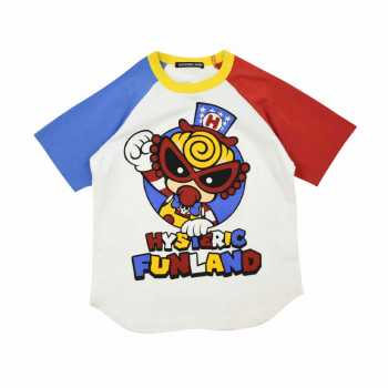 Hystericmini FUNLAND CAPTAIN MINI ラグラン半袖Tシャツ