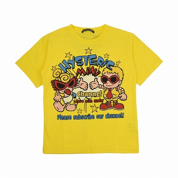 Hystericmini HYS-MINI CHANNEL Tシャツ