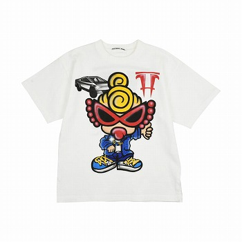 Hystericmini AIR BRUSH半袖Tシャツ