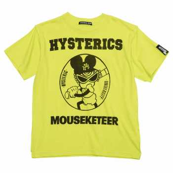 Hystericmini MASKETEER BASE BALL CLUB半袖Tシャツ