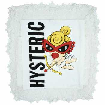 Hystericmini LITTLE ANGELレース付きTシャツ