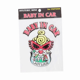 [SALE]Hystericmini Baby&Kids in Sticker外貼り用