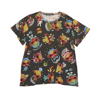 Hystericmini MONSTER TATTOO総柄BIG Tシャツ