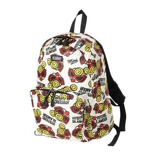 Hystericmini MINI FACE総柄 DAY PACK