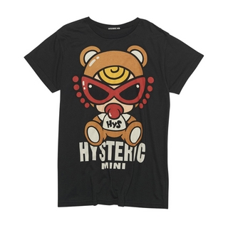 Hystericmini Teddy mini BIG Tシャツ