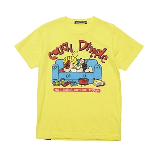 Hystericmini COUCH DIMPLE 半袖Tシャツ