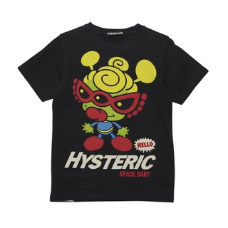 Hystericmini SPACE BABY 半袖Tシャツ