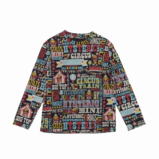 Hystericmini HYSTERIC WONDER CIRCUS総柄 長袖Tシャツ