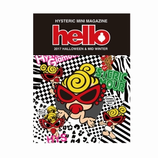 Hystericmini hello2017 HALLOWEEN&MIDWINTER OFFICIALGUIDEBOOK【WEB限定版(STAR WITH MINI柄)】