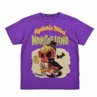 Hystericmini Rockin Jerry Bean Art Graphics MONSTERLAND Tシャツ
