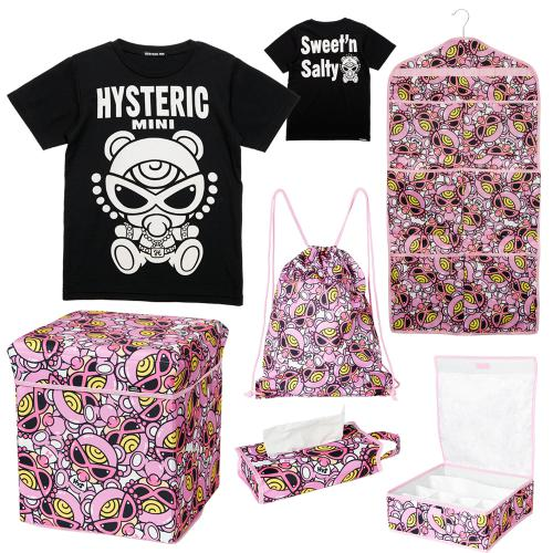 Hystericmini 【予約商品】2018Fortune T-Shirts SET B
