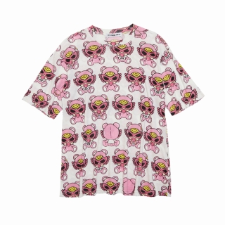 Hystericmini SWEETY TEDDY MINI総柄 BIG Tシャツ