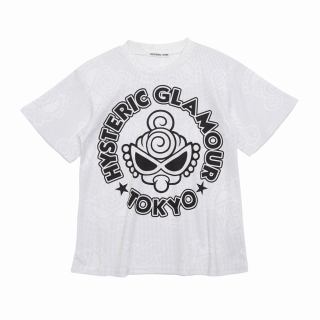 Hystericmini CLASSIC MINI Reflector Toned Mini総柄 BIG Tシャツ