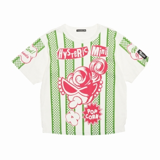 Hystericmini PUNK KIDS POP CORN 半袖Tシャツ
