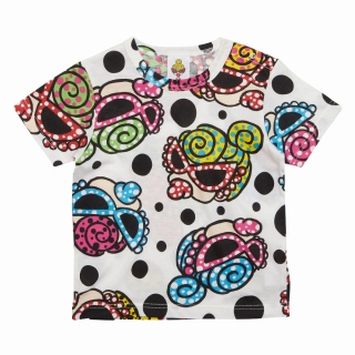 MY FIRST HYSTERIC HYSTERIC MINI HAPPENING総柄 BIGシルエット 半袖Tシャツ