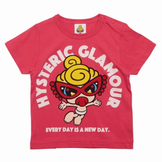 MY FIRST HYSTERIC SUPER POP MINI 半袖Tシャツ
