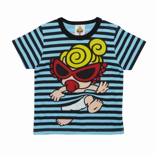 MY FIRST HYSTERIC STANDARD MINI &ボーダー柄 半袖Tシャツ