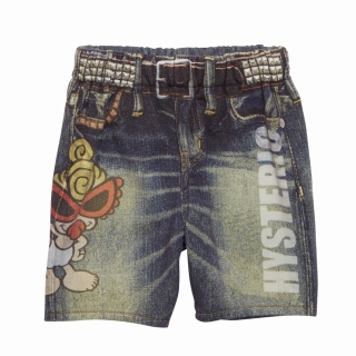 MY FIRST HYSTERIC Like A Denim STANDARD MINI ヒザ上丈デニムパンツ