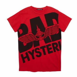 "Hystericmini PUNK KIDS ""BAD"" BIG 半袖Tシャツ"