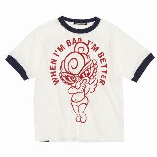 Hystericmini I'M VERY GOOD リンガーTシャツ