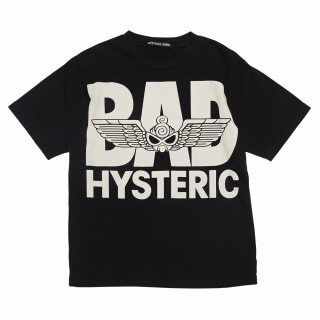 "Hystericmini PUNK KIDS ""BAD""半袖Tシャツ"