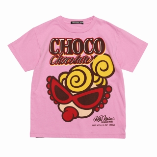 "Hystericmini CLASSIC MINI ""CHOCOLATE""半袖Tシャツ"