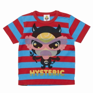 MY FIRST HYSTERIC PARTY MONSTER ボーダー柄 半袖BIGTシャツ