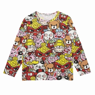 [SALE]Hystericmini CHITTY CHITTY BABY総柄 コーマフライス 長袖Tシャツ