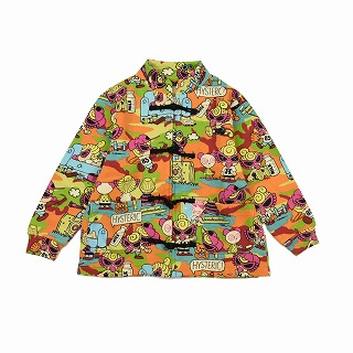 Hystericmini WOODLANDCAMO総柄CHINAJACKET