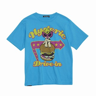 Hystericmini HYSTERIC DRIVE-IN コーマ天竺半袖BIGTシャツ