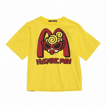 Hystericmini HYSTERIC TO GO アンダルシアピマ天竺半袖BIGTシャツ