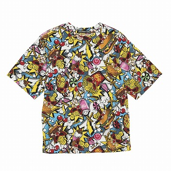 Hystericmini Hysteric to go 総柄 コーマ天竺半袖BIGTシャツ