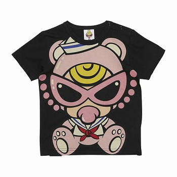MY FIRST HYSTERIC SAILOR TEDDY MIN エンジェルコット半袖BIGTシャツ
