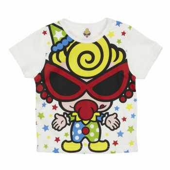 MY FIRST HYSTERIC HYSTERIC JOY JOY CIRCUS エンジェルコット半袖Tシャツ