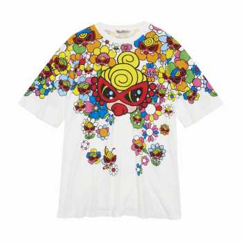 Hystericmini SUPER POP FLOWER GARDEN コーマ天竺 BIG半袖Tシャツ