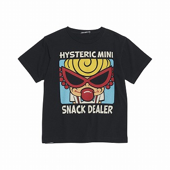 Hystericmini HYSTERIC DRIVE-IN コーマ天竺半袖Tシャツ