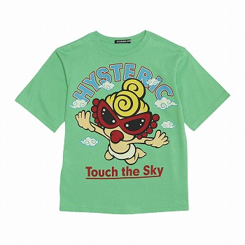 Hystericmini FLYING MINI コーマ天竺半袖BIGTシャツ