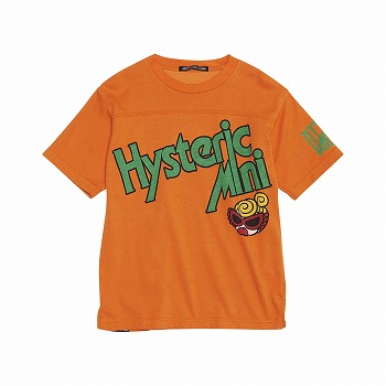 Hystericmini SPORTS LOGO COOLMAX半袖Tシャツ