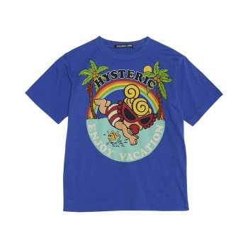 Hystericmini ENJOY VACATION 半袖Tシャツ
