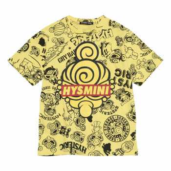 [SALE]Hystericmini HYSTERIC MINI GENERATIONS総柄コーマ天竺半袖Tシャツ