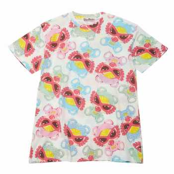 Hystericmini TEDDYS DONUTS総柄 エンジェルコットBIGTシャツ