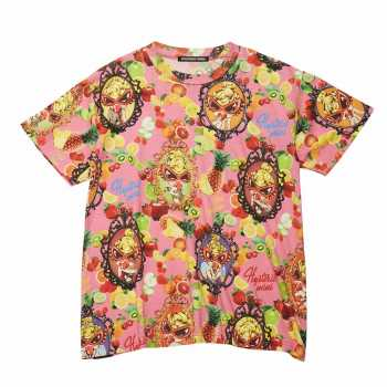 Hystericmini TEMPTATION FRUITS総柄 Viscotex BIGTシャツ